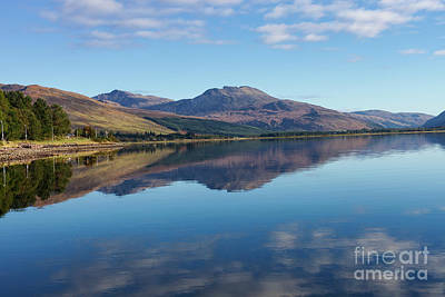 Photograph - Loch Carron Reflections by Diane Macdonald