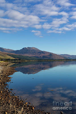 Photograph - Loch Carron Skies by Diane Macdonald