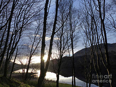 Photograph - Loch Dochart - Winter Sunset by Phil Banks