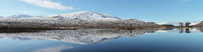 Photograph - Loch Droma Panorama by Grant Glendinning