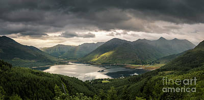 Scottish Photograph - Loch Duich And The Five Sisters by Neil Barr