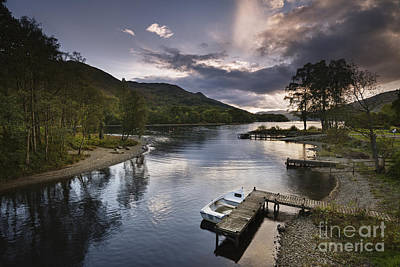 Perth Photograph - Loch Earn 1 by Rod McLean