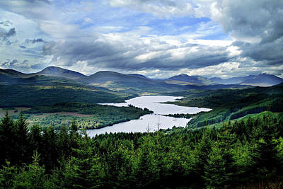 Photograph - Loch Garry by Bud Simpson