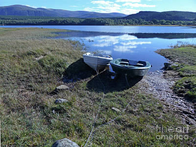 Photograph - Loch Insh Dinghies by Phil Banks