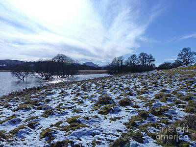 Photograph - Loch Insh - Winter Sky by Phil Banks