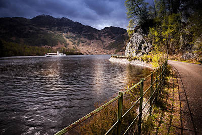 Photograph - Loch Katrine by Alex Saunders