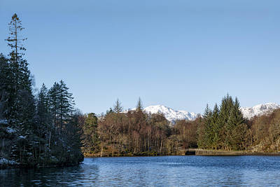 Photograph - Loch Katrine by Jeremy Lavender Photography