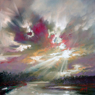 Loch Light Art Print by Scott Naismith