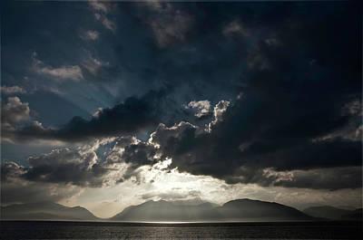 Loch Linnhe Sunset Art Print by Mark Denham