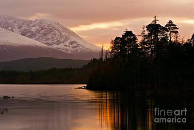 Loch Lochy Art Print by David Bleeker