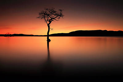 Photograph - Loch Lomond Afterglow by Grant Glendinning