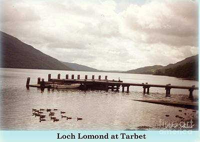 Photograph - Loch Lomond At Tarbet by Joan-Violet Stretch