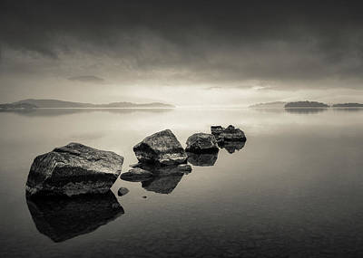 Photograph - Loch Lomond Dawn by Dave Bowman