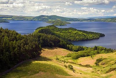 Loch Lomond From Conic Hill Art Print by John McKinlay