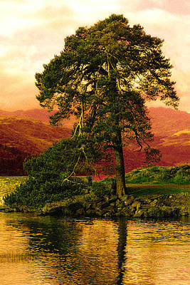 Loch Lomond Gloaming Print by Rianna Stackhouse