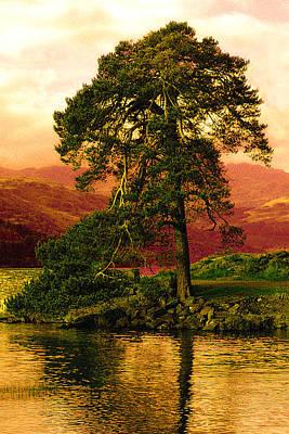 Loch Lomond Gloaming Art Print by Rianna Stackhouse