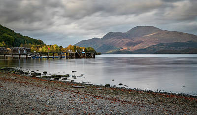 Photograph - Loch Lomond In Luss by Jeremy Lavender Photography