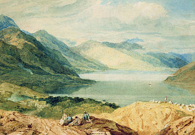 Scottish Highlands Painting - Loch Lomond by Joseph Mallord William Turner