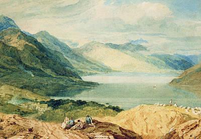 Scot Painting - Loch Lomond by Joseph Mallord William Turner