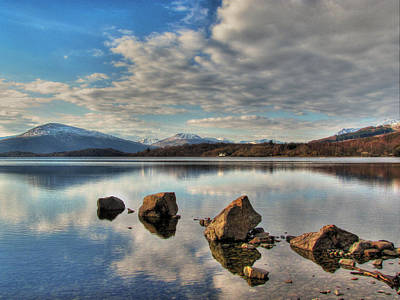 Loch Lomond Print by Fiona Messenger