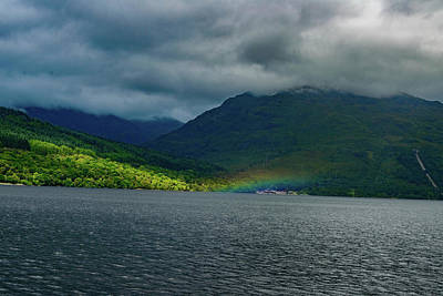 Photograph - Loch Lomond Rainbow by Elvis Vaughn