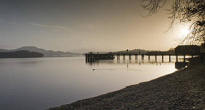 Take The High Road Photograph - Loch Lomond by Sam Smith