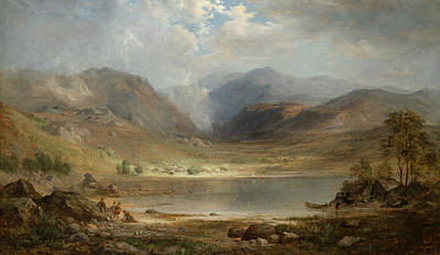 Loch Long Art Print by Robert Seldon Duncanson