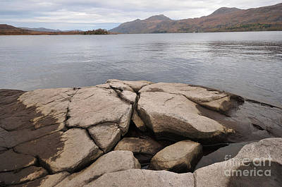 Scottish Highlands Wall Art - Photograph - Loch Maree by Smart Aviation