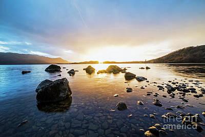 Colourfull Photograph - Loch Morar by Sebastien Coell