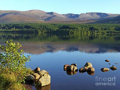 Photograph - Loch Morlich In September by Phil Banks