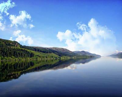 Photograph - Loch Ness by Anthony Dezenzio