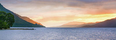 Loch Ness At Dawn Art Print