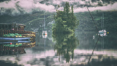 Loch Ness Photograph - Loch Ness Reflection by Chris Fletcher