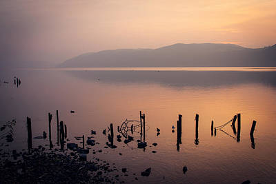 Beer Photograph - Loch Ness Sunset by Chris Dale