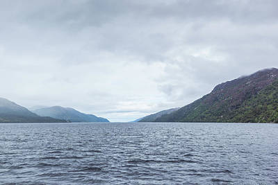 Loch Ness Photograph - Loch Ness by Thubakabra