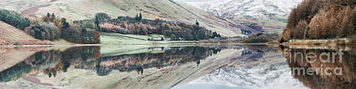 Winter Landscapes Photograph - Loch Of The Lowes Panoramic by Tim Gainey