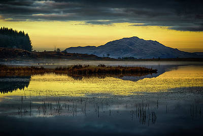 Photograph - Loch Peallach, Isle Of Mull by Peter OReilly
