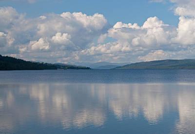 Loch Rannoch Clouds Art Print by Chris Thaxter
