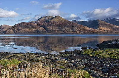 Photograph - Loch Reflections Scotland  by Jacqi Elmslie