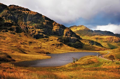 Photograph - Loch Restil. Rest And Be Thankful. Scotland by Jenny Rainbow