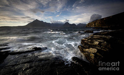 Photograph - Loch Scavaig And The Cuillin by Roddy Atkinson