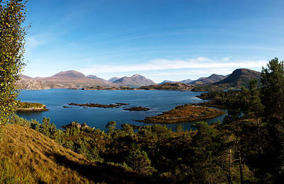 Torridon Wall Art - Photograph - Loch Torridon by Derek Whitton