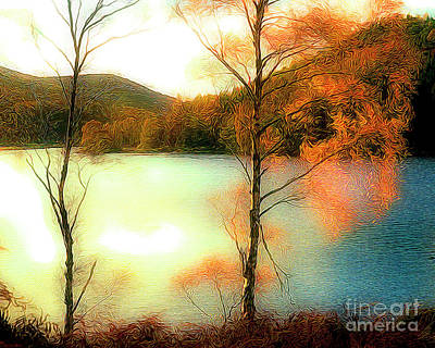 Digital Art - Loch Tummel by Edmund Nagele
