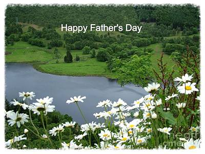 Photograph - Loch Tummel Father's Day Greeting by Joan-Violet Stretch