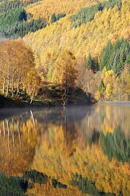 Photograph - Loch Tummel Reflections by Stephen Taylor