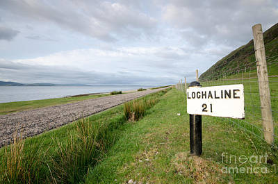Lochaline This Way Art Print