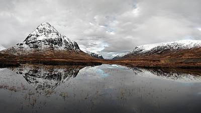 Photograph - Lochan Na Fola Panorama by Grant Glendinning