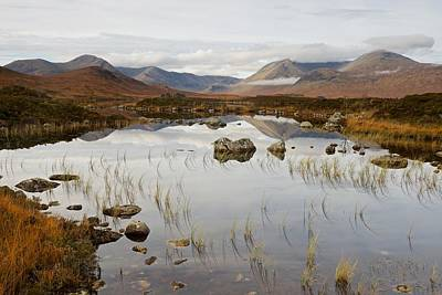Photograph - Lochan Na H-achlaise In The Autumn by Stephen Taylor