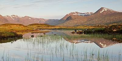 Photograph - Lochan Na Stainge Panorama by Stephen Taylor