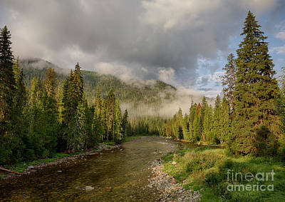 Photograph - Lochsa Mists by Idaho Scenic Images Linda Lantzy